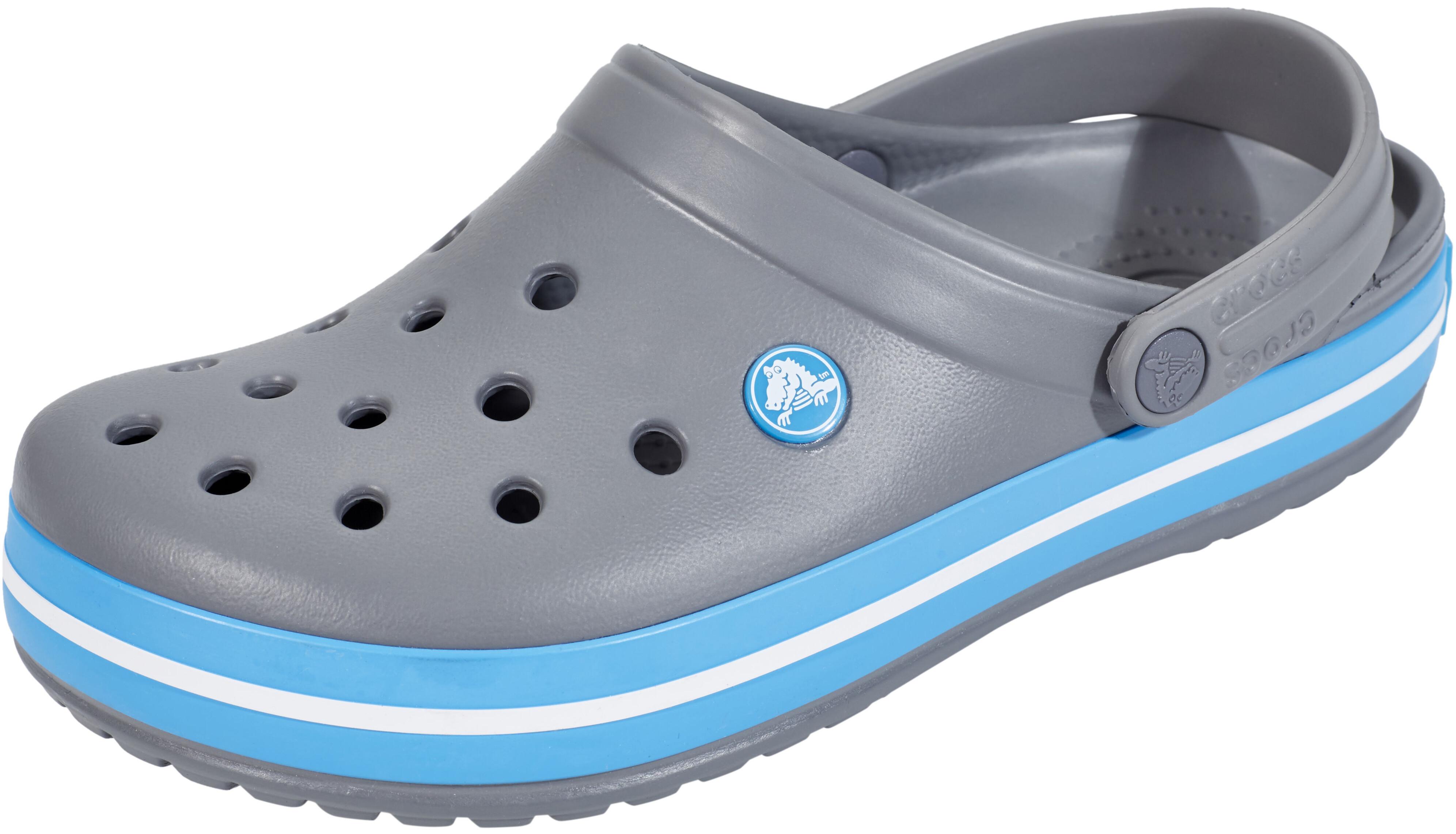 4edc5e25725 Crocs Crocband - Sandalias - gris azul